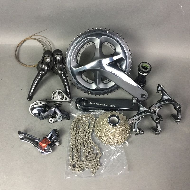 Shimano R8000 groupsets in stock!!Ultegra Road Bike Groupset 165/170/172.5/175mm 50-34 52-36 53-39 Bicycle Group Set 2*11 speed