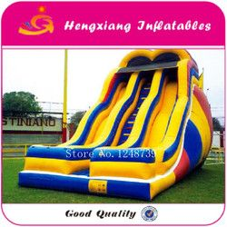Inflatable bouncy slide dengan harga pabrik, rumah bouncer tiup.