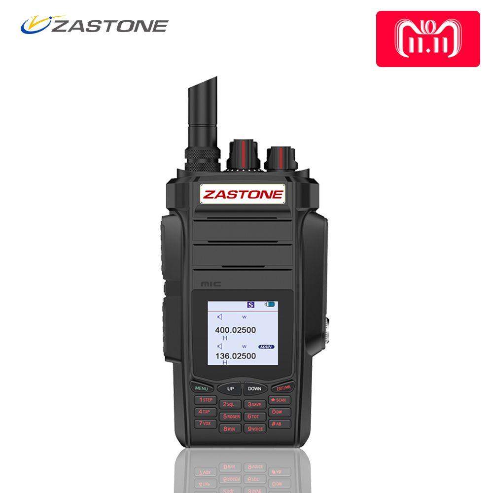 Zastone A19 Walkie Talkie Professional CB Radio ZASTONE A19 Transceiver 10W VHF&UHF Handheld A19 For Hunting Radio telsiz