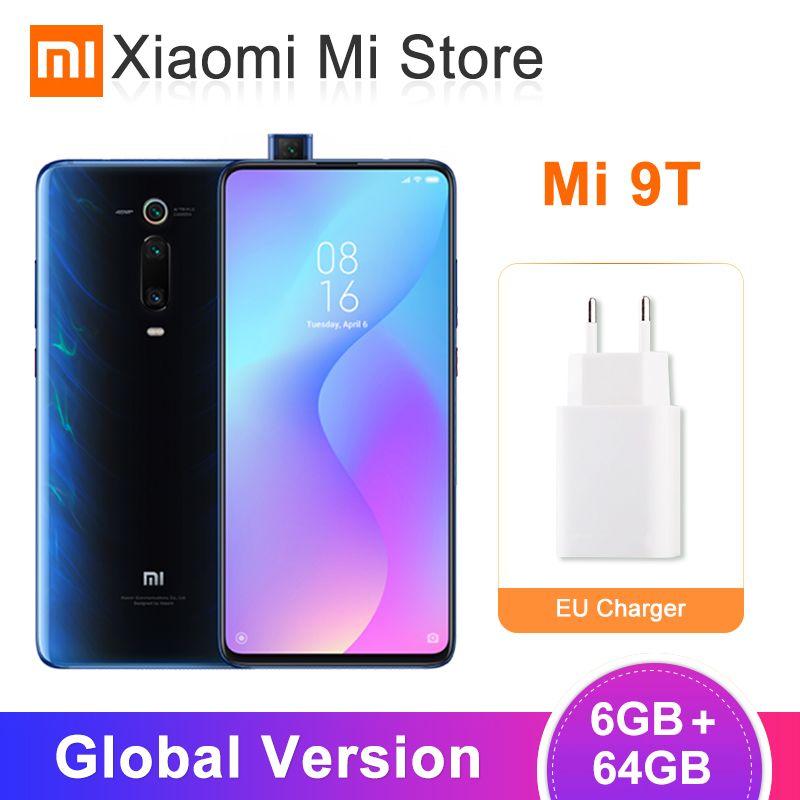 Version mondiale Xiao mi mi 9T (rouge mi K20) 6GB 64GB Smartphone Snapdragon 730 Octa Core 48MP 6.39