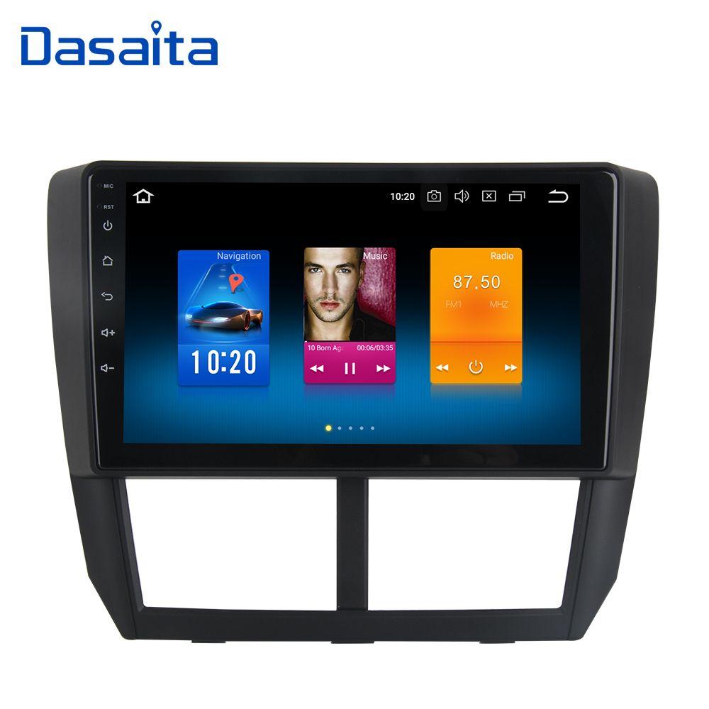 9 Android 8.0 Auto Radio GPS für Subaru Forester Navigation 2008 2009 2010 2011 2012 Kopf Einheit 4G 32G Octa Core