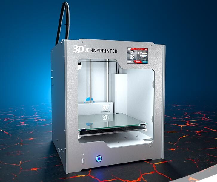 Jennyprinter generation 4 Ultimaker2 Z205 hohe präzision desktop 3D drucker DIY Kit