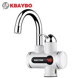 3000 w sin tanque calentador de agua del grifo, grifo de la cocina agua instantáneo Calentadores de agua grifo 3 segundos de calentamiento instantáneo