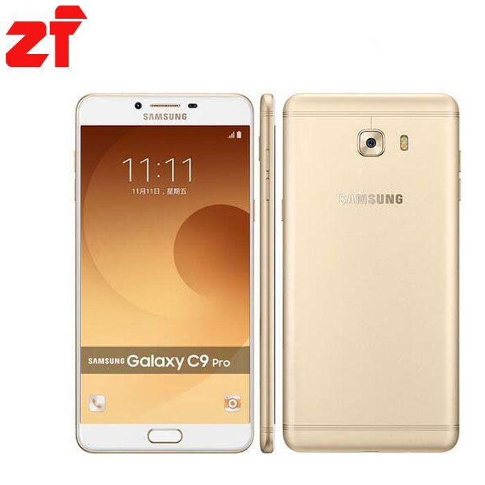 Новый оригинальный Samsung Galaxy C9 Pro C9000 6 ГБ Оперативная память 64 ГБ Встроенная память LTE Восьмиядерный 16mp Камера 6''inch 4000 мАч Батарея сотовый теле...