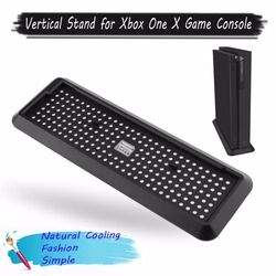 for Xbox One X Stand Mount Dock Holder Vertical Bracket Cooling Stand For Xbox One X Game Console Vertical Stand Base Holder