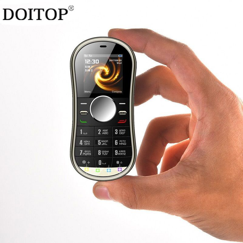 DOITOP Fidget Spinner Pattern Cellphone Moible Phone For Old People Stress Reliever Hifi Music MP3 Player Elder People Mobile B3