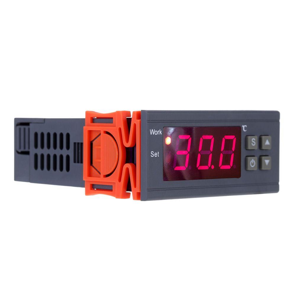 250V 10A Digital thermometer Thermoregulator thermostat temperature Controller for incubator Thermocouple -50~110Degrees+Sensor