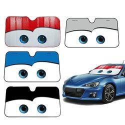 5 colores ojos climatizada parabrisas sombrilla ventana del coche parabrisas cubierta Sun Shade Auto parasol coche cubre coche Solar protección
