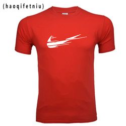 Envío Gratis Nuevo 2018 T impresión camisa para hombre 100% algodón blanco y negro camiseta del monopatín del verano camiseta del Hip hop camiseta Tops