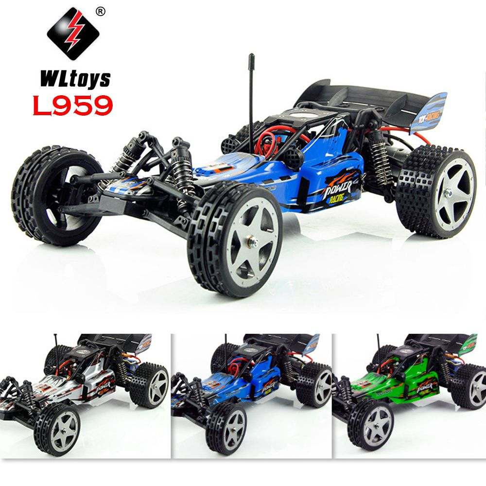 WLtoys L959 1/12 RC Car 2.4GHz Remote Control Racing Brushless 60 Km/hShock Absorber Vehicle Racing Car Toy for Kids Gift