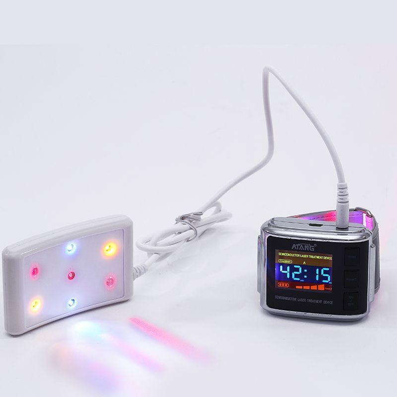 ATANG 2018 Neue Medizinische LLLT Handgelenk Laser Uhr Krampfadern Niedrigen Hebel Laser Therapie Gerät Bluthochdruck Koronare Herz Krankheit