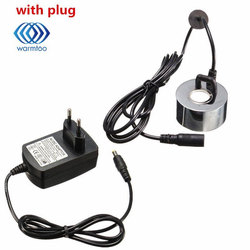 Avec L'UE Plug/Aucun Plug 45mm DC 24 v Humidificateur À Ultrasons Mist Maker Fogger Fontaine D'eau Étang Atomiseur tête Humidificateur D'air