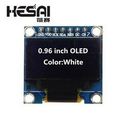 0.96 inch OLED White Display Module 128X64 OLED SPI 7pin Driver Chip SSD1306 for arduino Diy Kit