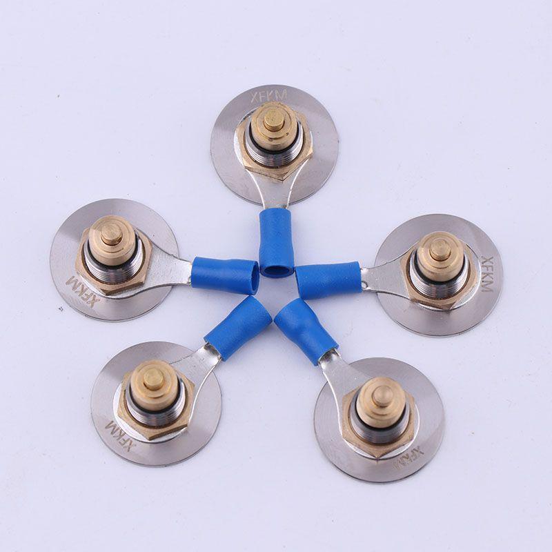 Xfkm Elektronische zigarette Feder Terminal-anschluss Geladen 510 Stecker für DIY mod 510 Frühling stecker für batterie Box Mod