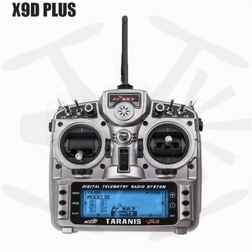 FrSky Taranis X9D Plus Transmitter 16CH RC Controller with X8R Receiver Quadcopter Multicopter Parts for V8-II Series Receivers