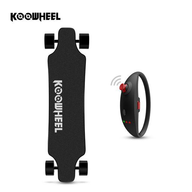 Koowheel Skateboard Neueste D3M + Elektrisches Skateboard 4 räder Elektrische Hoverboard mit Aktualisiert Fern und Hub Motor Freies steuer
