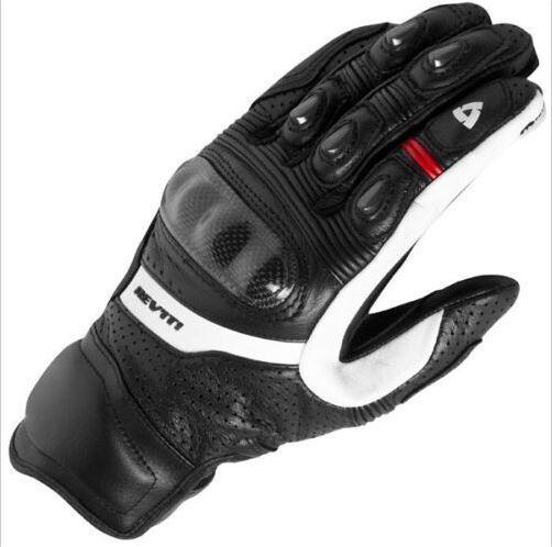 Nouveau 2017 Revit gants de moto noir gants de course en cuir véritable gants de moto