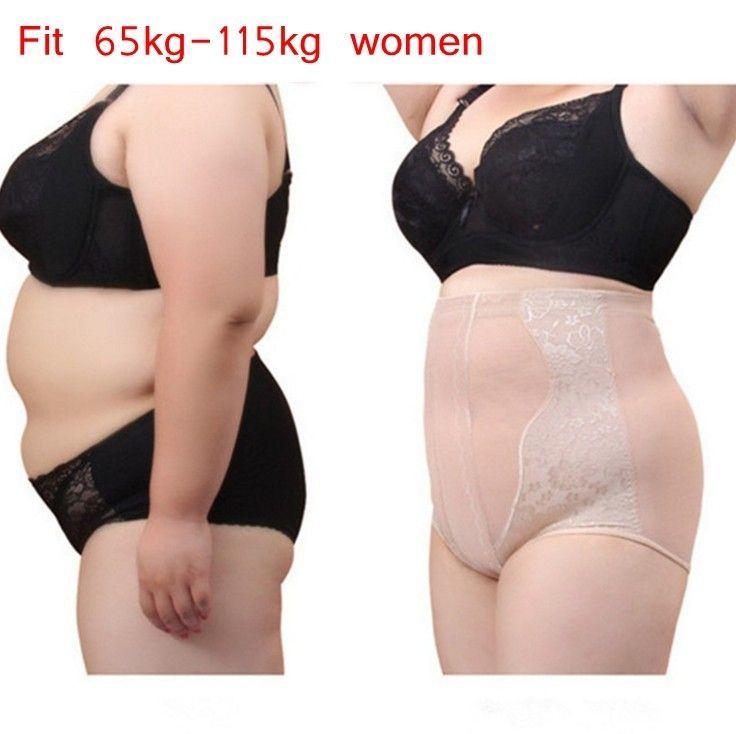 Plus Size Body Shaper Control Panties High Waist Trainer Pant Shapewear Slim Sexy Underpants Bodysuit Tummy Control dropshipping