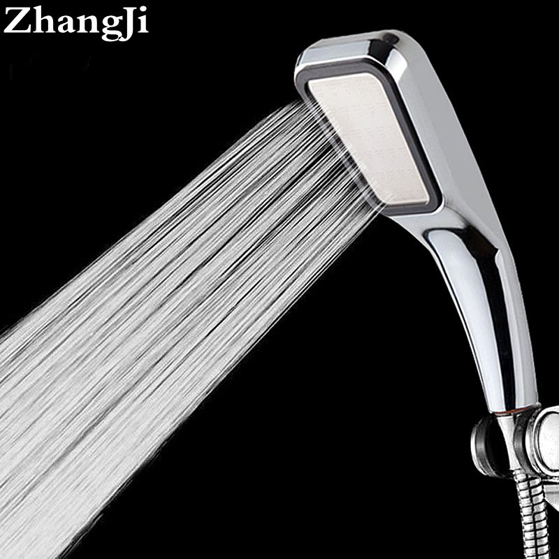 Quality Bathroom Rainfall 300 Hole Shower Head Water Saving Flow With Chrome ABS Rain Shower Head High Pressure Boost ZJ001