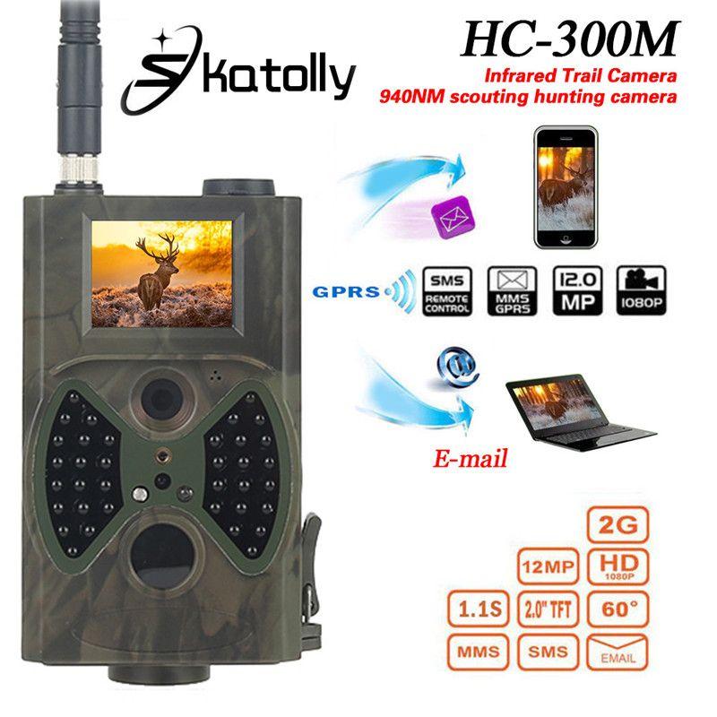 Skatolly HC300M 940NM Infrarot-nachtsicht 12 Mt Digitale Überwachungskamera Unterstützung Fernbedienung 2G MMS GPRS GSM Jagd kamera