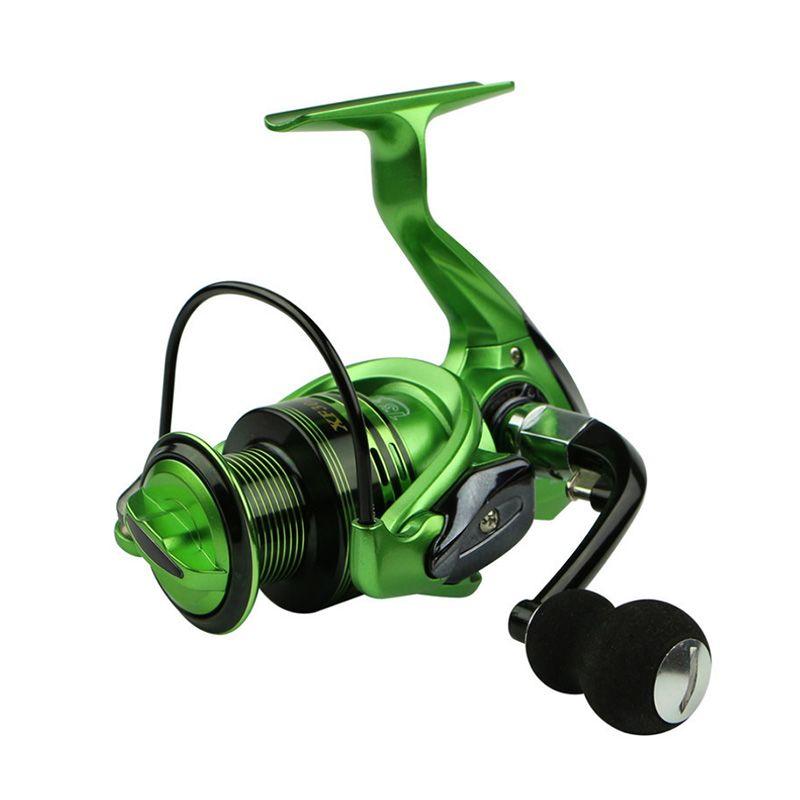 HOT SALE!! 13+1 Bearing Balls Spinning reel fishing reel 5.5:1/4.7:1 spinning reel casting fishing reel lure tackle line