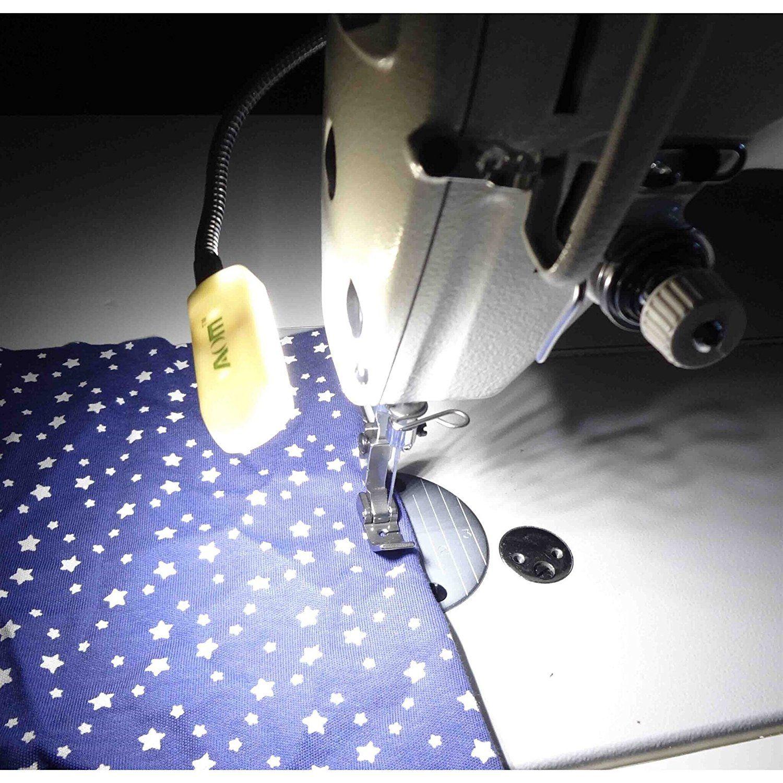 Sewing Machine Led lamp White Light Megnatic Mounting Light 10-led Motor Switch AOM-10A
