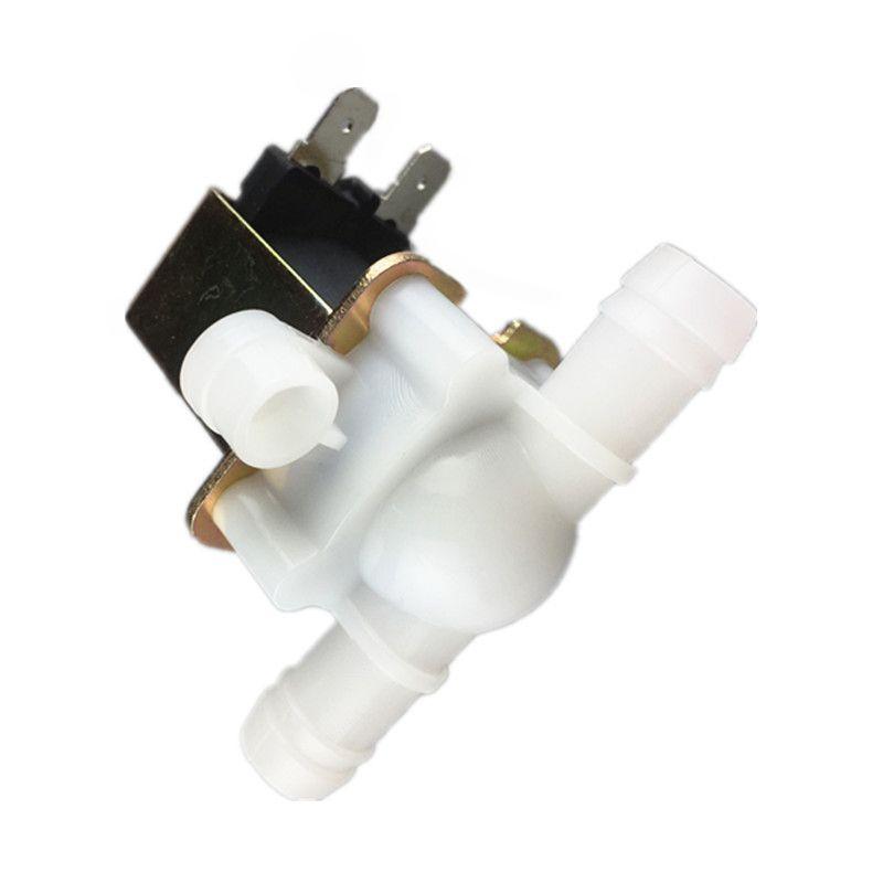 Livraison gratuite 1 pcs nouvelle électrovanne eau valve 10mm 12 v 220 v vanne d'eau En Plastique