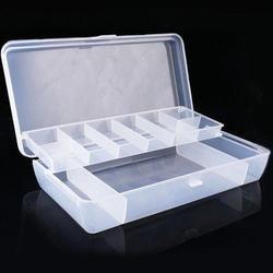 Ручной инструмент для хранения, органайзер, пластиковый контейнер для рыболовных приманок, коробка для снастей, двухсторонние футляры для ...