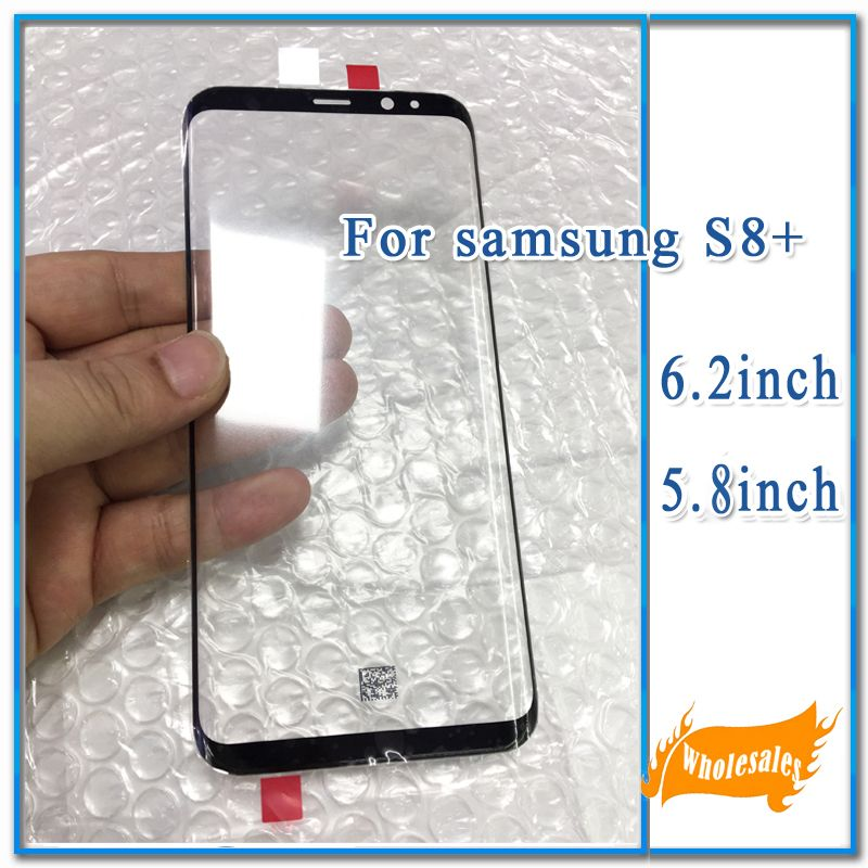 Original New LCD Screen Front Outer Glass Lens For Samsung Galaxy S8 G950 5.8'' S8Plus G955 6.2'' Touch Panel Screen Repair Part