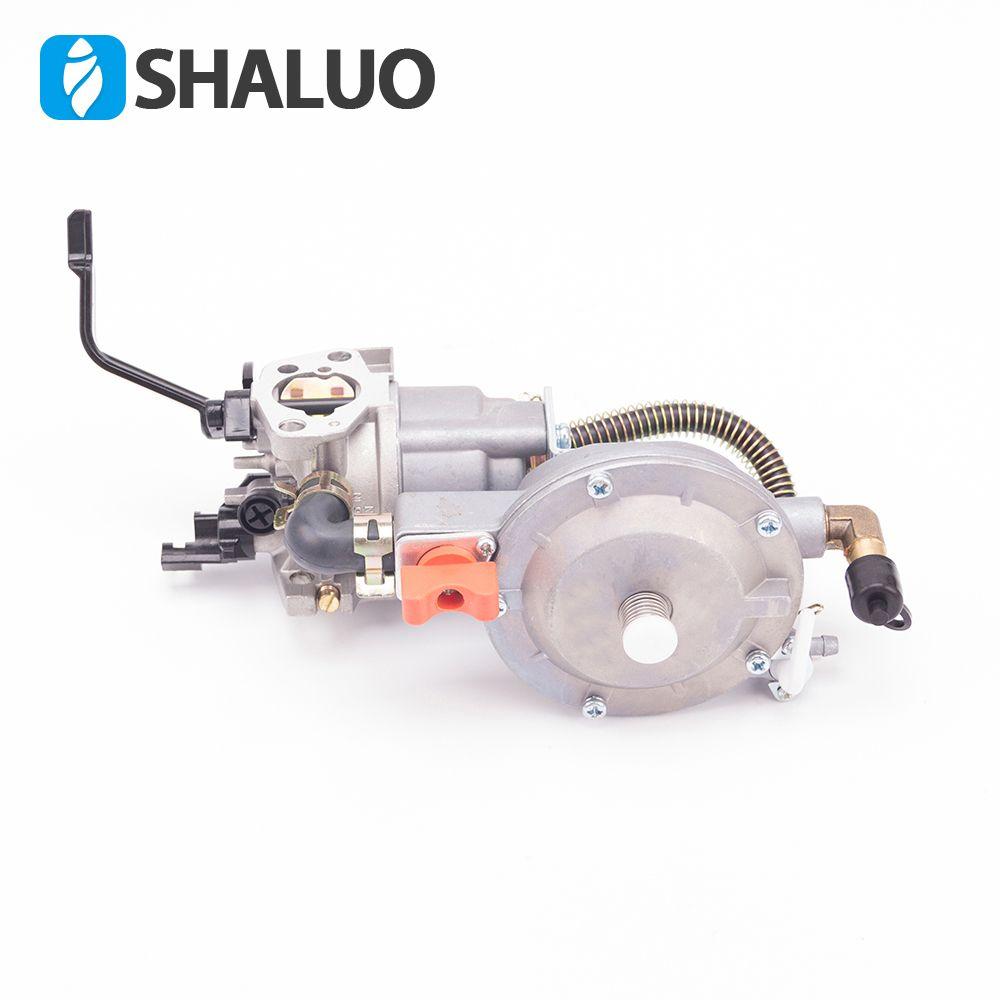 2018 NEW LPG 168 NG Carburetor dual fuel LPG conversion kit for 2KW 3KW 168F 170F Gasoline Generator Dual Fuel Carburetor