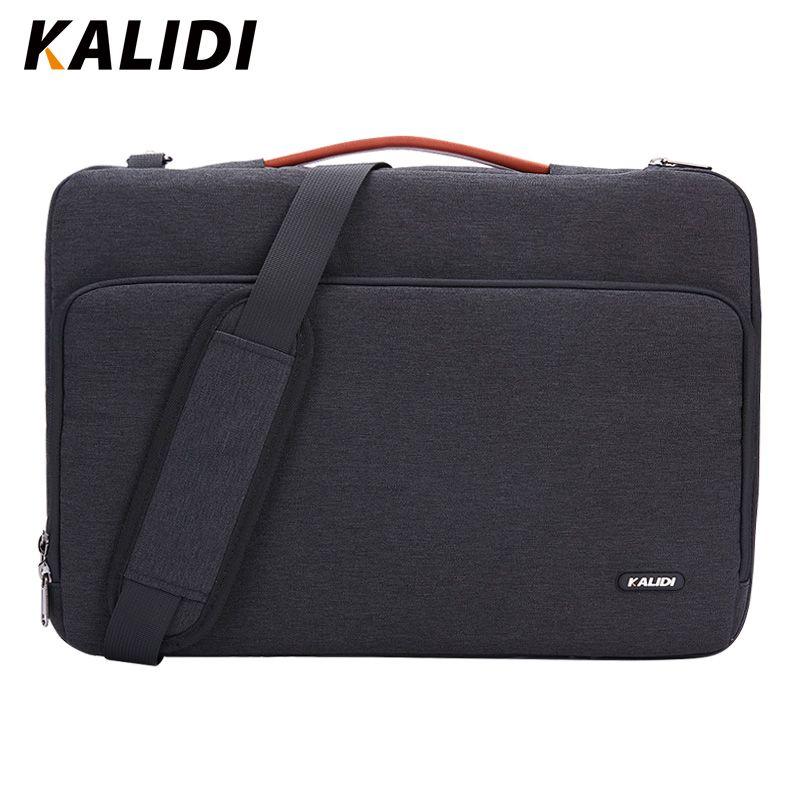 KALIDI Laptop Bag Sleeve 11 12 13.3 15.6 17 Inch Waterproof Notebook Bag For Macbook Air Pro 11 13 15 Computer Bag For Women Men