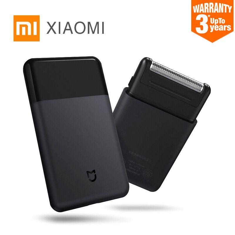 D'origine Xiaomi Électrique Rasoir pour hommes Smart Mini Portable Rasoir Entièrement En Métal Corps tondeuse Sans Fil Rasoirs Hommes Voyage Mijia