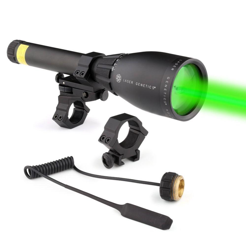 Night Vision Flashlight Laser Genetics ND3 x 50 Long Distance Green Laser Designator With Mount