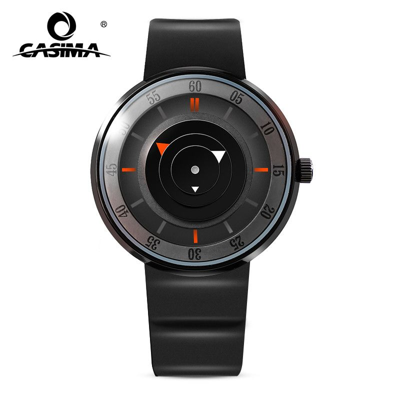 2017 Luxury Brand Fashion Personality Quartz Waterproof Silicone Band for Men and Women Wrist Watch Hot Clock 8310