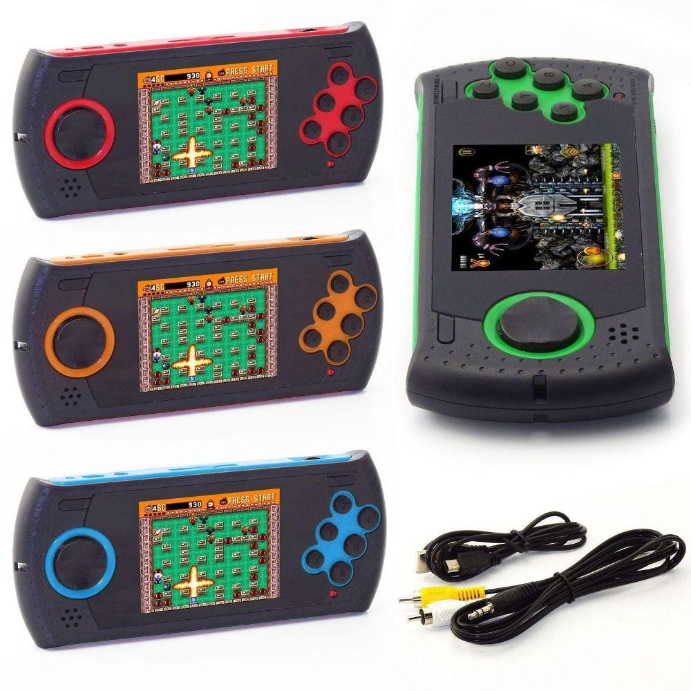 MD16 simulateur 3.0 pouces consoles de jeu 16BT poche PVP PXP jeu Sega jeux Portable Portable sortie TV HDMI/AV