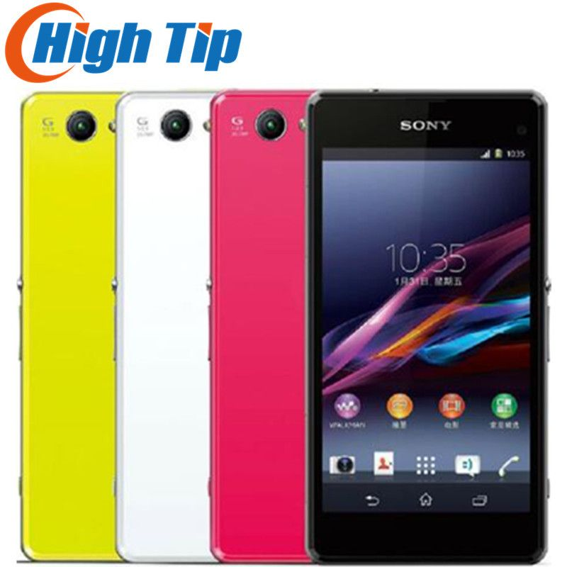 Unlocked Original Sony Xperia Z1 Compact D5503 Android 2GB RAM 4.3