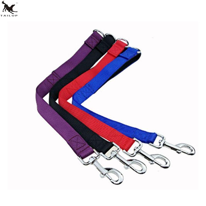 [TAILUP] laisse de chien courte corde Nylon chiens laisses de base conduit 50 cm collier court harnais laisses pour grand chien moyen marche CL105