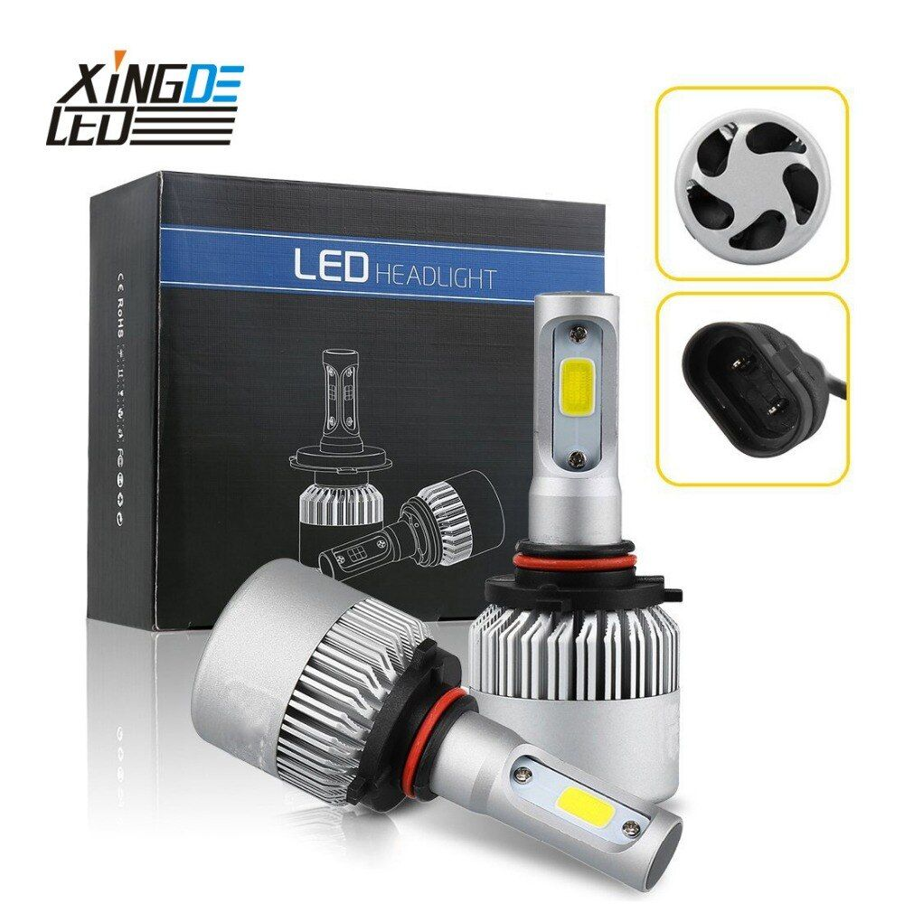 Auto LED Headlight 9012 H7 H4 H8/H11 LED HB3/9005 HB4/9006 H1 H3 6000K Car Head Light Bulb