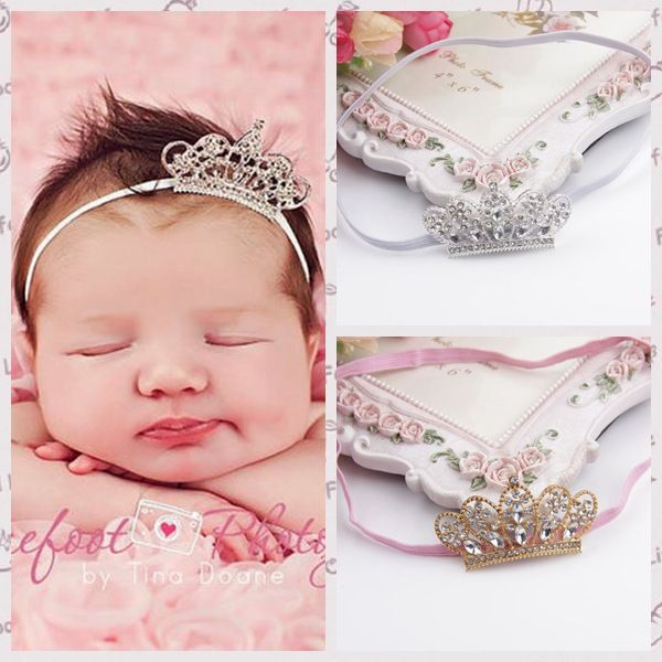 Spring Pearl Crown Princess Baby Girl Headband Hair Band Headwear Accessories  US $0.99 / pi