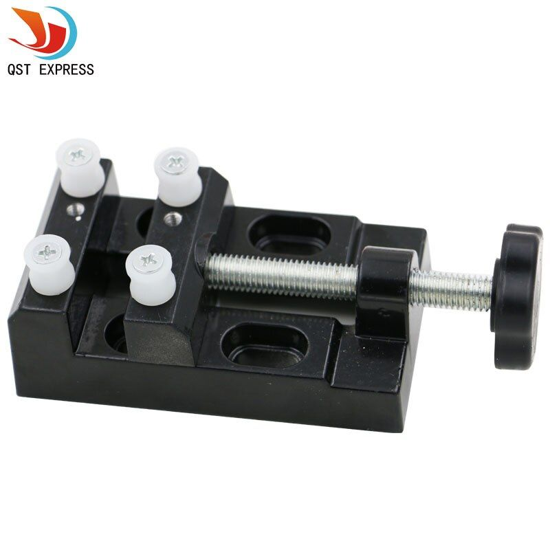 Super Mini Walnut Vise Clamp Table Bench Vice for Jewelry Nuclear Clip On DIY Carving Tool