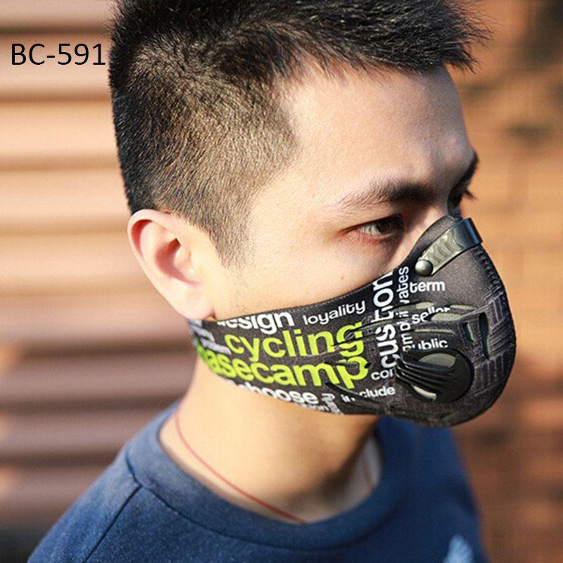 Basecamp Radfahren Maske Männer Frauen Sport Gesichtsmasken Smog Antiverschmutzung Anti Staub maske MTB Fahrrad Maske mascara ciclismo bisiklet