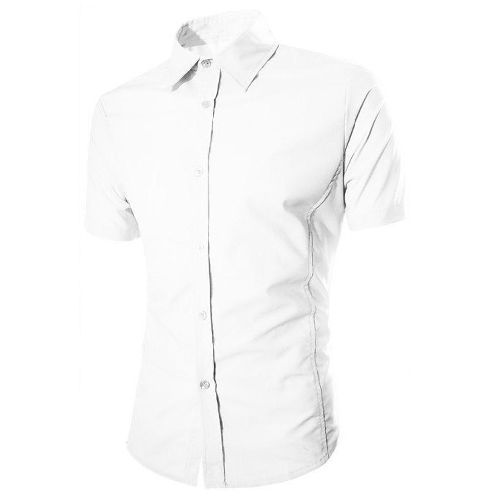 2017 NEUE New fashion men shirt kurzarm männer shirts sommer shirts