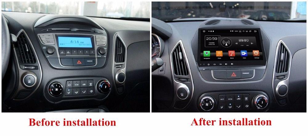 Navirider Android 9.0 AUTO-Radio-player für Hyundai IX35 Tucson 2011 auto gps Kopf einheit Multimedia unterstützung aux kamera und lenkung