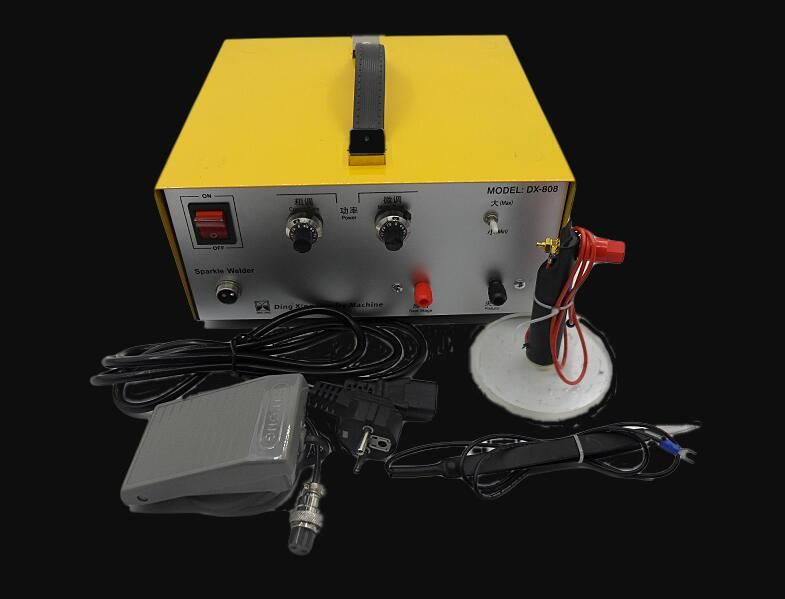 New Arrival Jewelry Chain Making Machine 80A 800W High Power Argon Spot Welder Jewelry Soldering Machine jewelery tools