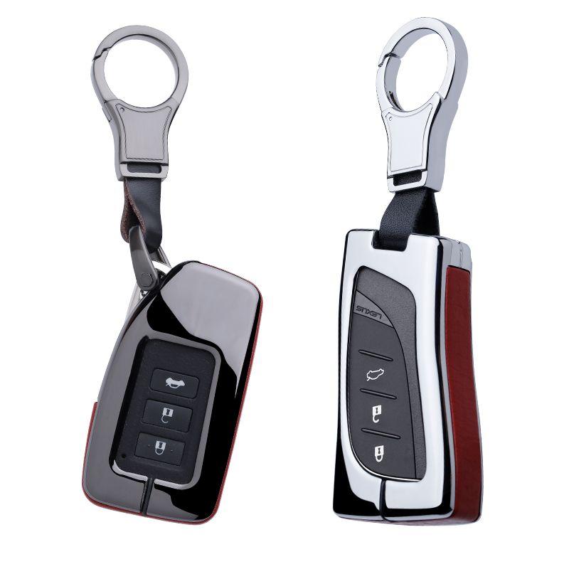Hohe Qualität Auto Schlüssel Abdeckung Fall Halter Für Lexus LX GX ES300h ES350 ES200 ES260 LS350 LS500h UX260 UX2 CT200h IS250 GX400 RX300