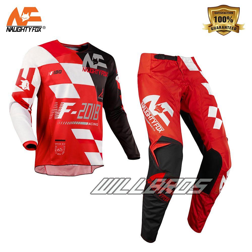 180 Sayak Jersey & Pant Combo MX/ATV/BMX Kid's Childs Youth Racing Gear Set Red