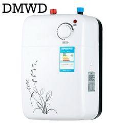 DMWD Sans Réservoir Chauffe-eau Instantané électrique D'eau chaude chauffe cuisine Instantanée douche Robinet de Chauffage Robinet 8L 1500 W
