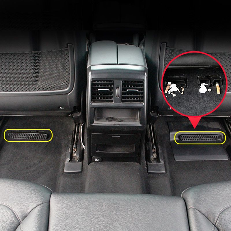Rear air conditioning vent outlet trim InteriorFor Mercedes Benz ML350 320 2012 GLE W166 Coupe C292 GLS GL X166 amg accessories