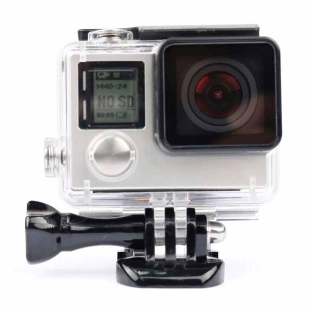 Hohe Qualität Unterwasser 30 Meter Wasserdichte Tauchen Schutz Gehäuse Case für GoPro Hero 4 auf lager!