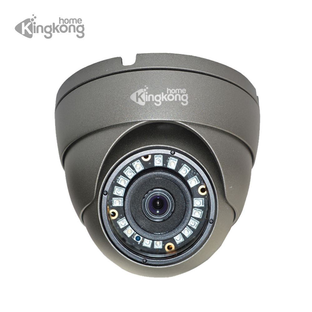 Kingkonghome Outdoor POE IP Camera 1080P Surveillance 720P 960P CCTV Security Camera ONVIF Waterproof Indoor Metal Dome IP Cam